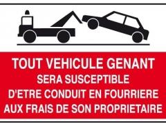 Autorisation de stationnement déménagement
